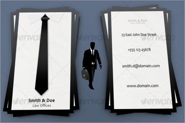 Office Business Card Organizer Template