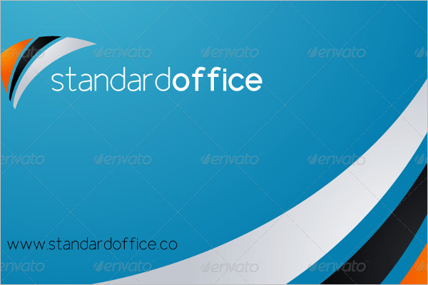 Office Business Card Template Word