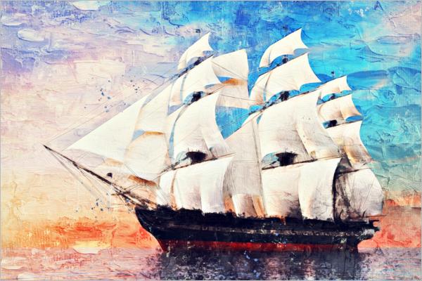 Oil Paint PSD Photoshop Design