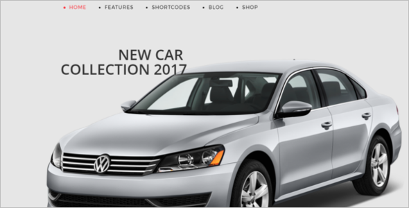 Online Car Store Joomla Website Template