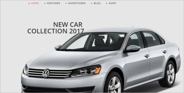 Online Car Store Joomla Website Template