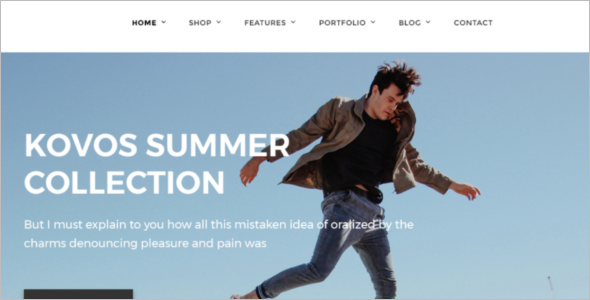 Online Fashion Store PSD Template