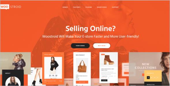 Online Multi Store WooCommerce Theme
