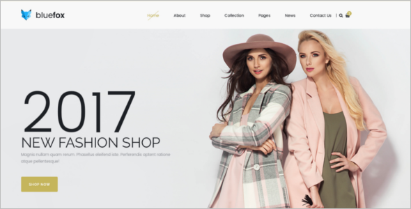 Online Store ECommerce PSD Template
