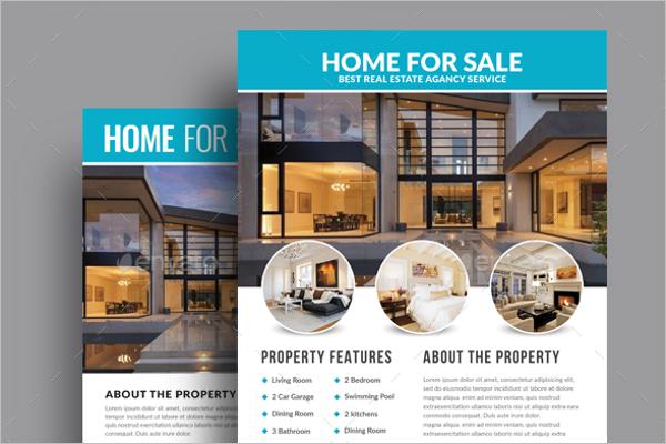 real estate flyer templates psd free design ideas
