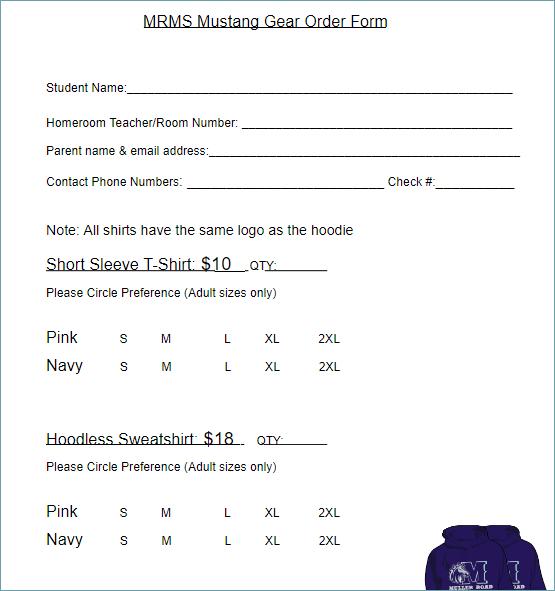 Order Form Template Excel