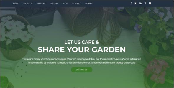 Organic Responsive Website Template