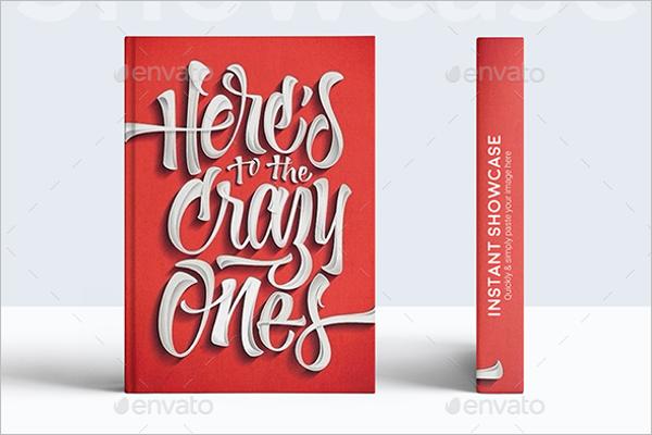 Paperback Book Mockup Template