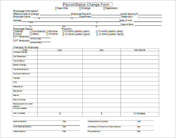Payroll Tracking Sheet
