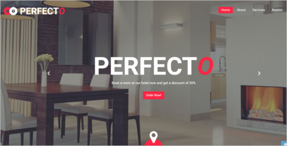 Personal Hotel Website Template