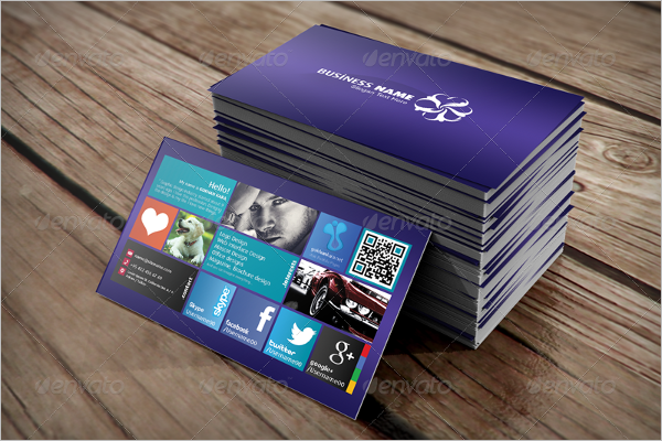 Personal Visiting card Design