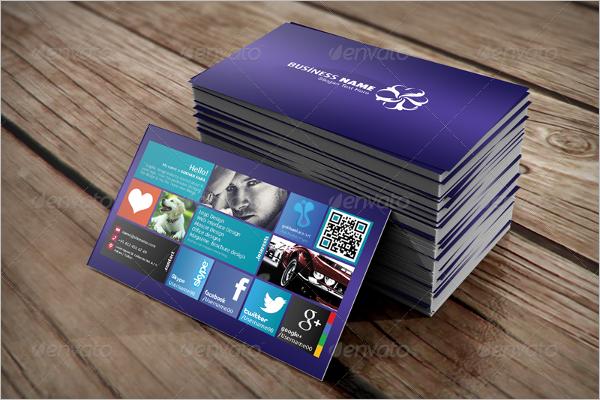 Personal Visiting card Design