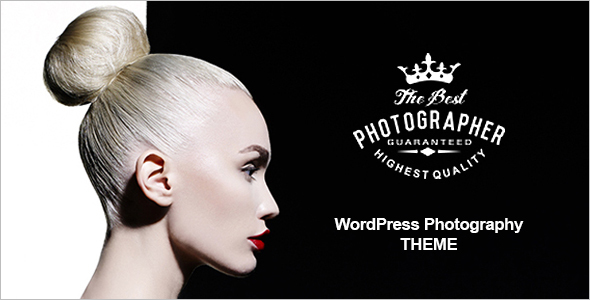 Photography WordPress Website Theme