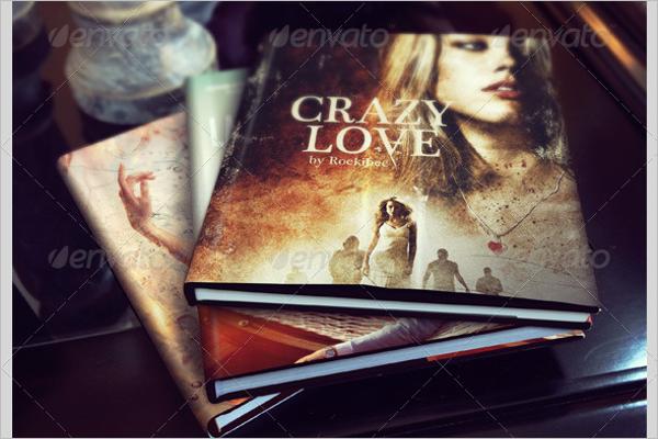 Photo realistic Book Mockup Template