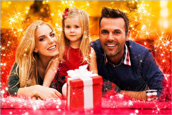 Photoshop Christmas Card Idea