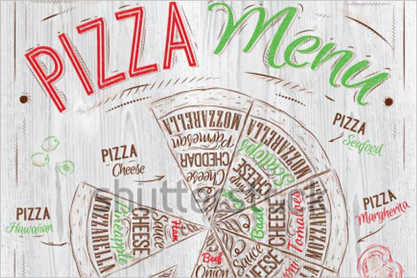 Pizza Menu Template Sample Download