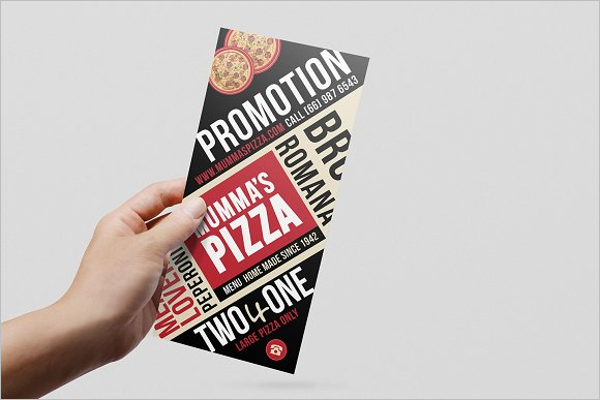 Pizza Menu Vector Design
