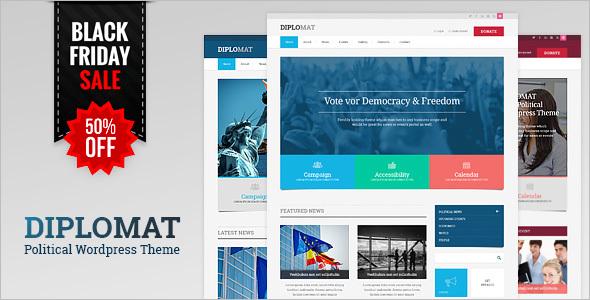 Political Responsive WordPress Theme