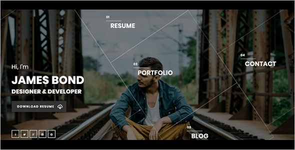 Portfolio Website WordPress Theme