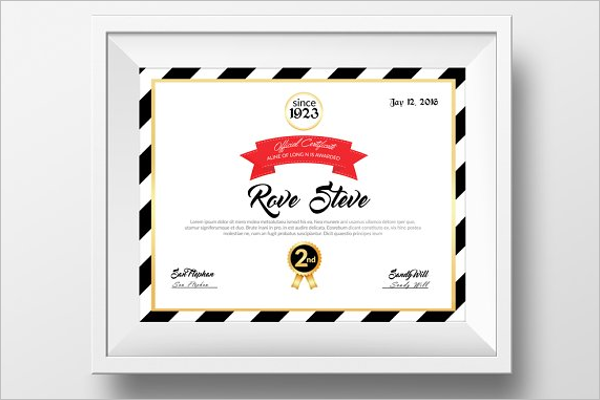 30 experience certificate templates free word pdf psd format practical experience certificate template yadclub Image collections