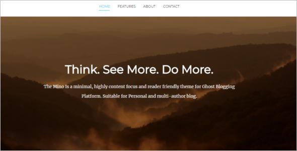 Premium Blog Website Template