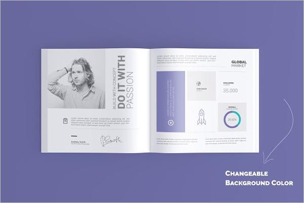 Print Book Mockup Template