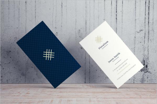 Printable Business Card Design