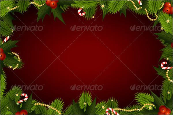 Printable Christmas Background Design