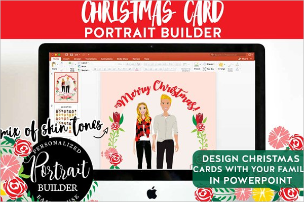 Printable Christmas PowerPoint Template