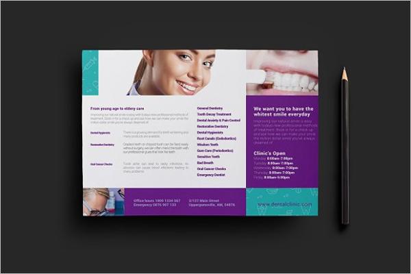 Printable Dental Flyer Template