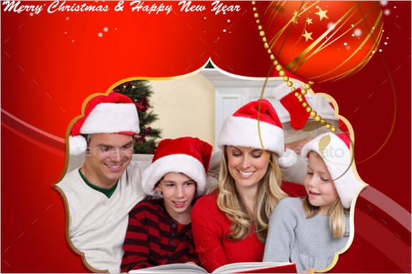 Printable Photo Christmas Cards