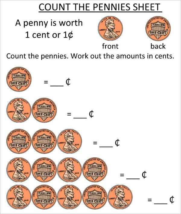 Printable Worksheet Template Word
