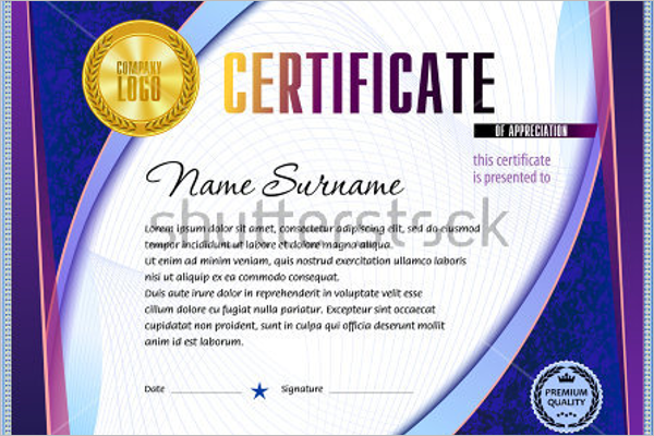 30+ Experience Certificate Templates Free Word, PDF, PSD Format