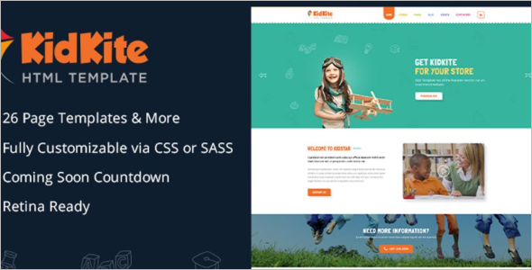 Professional Ecommerce Website Template