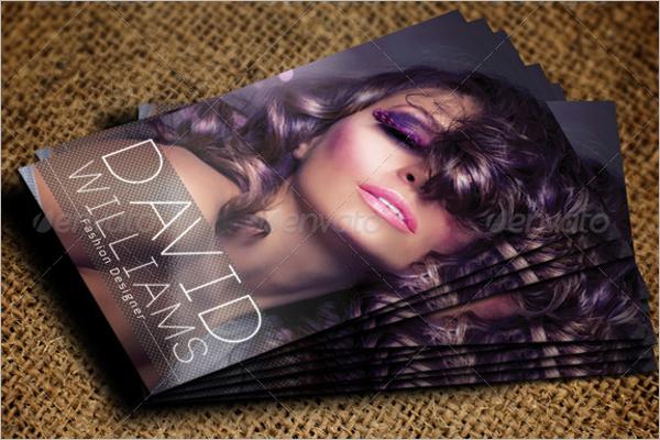Professional Makeup Business Card Template