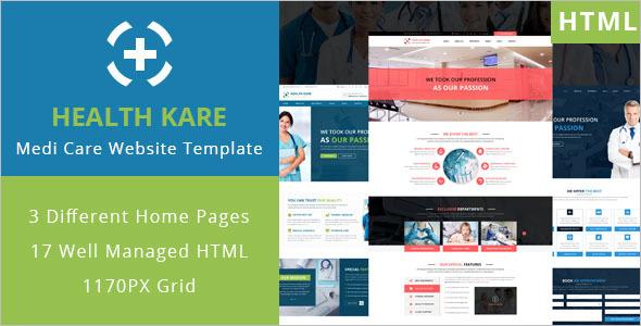 Professional Medi Care HTML Template