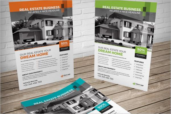 Property Dealer Flyer Template