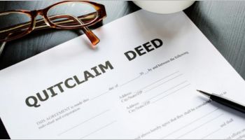 Quit Claim Deed Form Templates