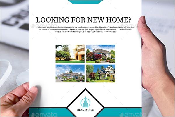 Real Estate Flyer Illustrator