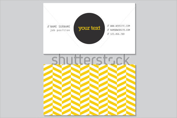 Realistic Business Card Design