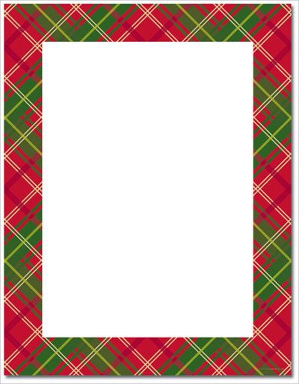 Religious Christmas Stationery Template