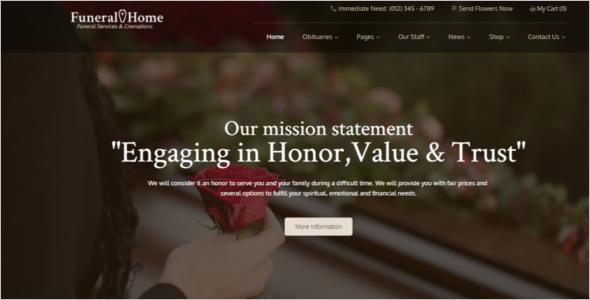 Responsive Church Website Template