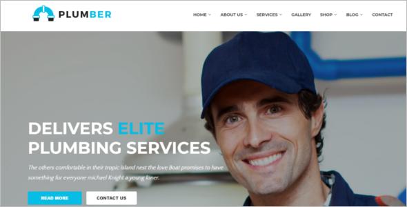 Responsive Construction Website Template