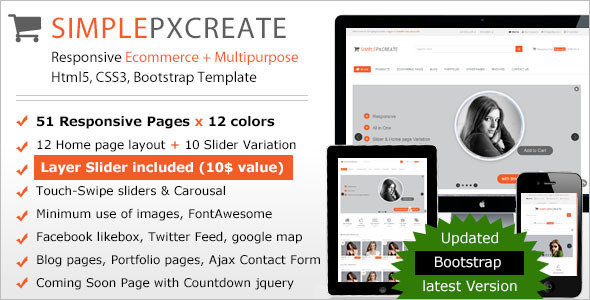 ecommerce html template