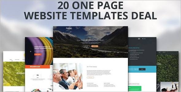 Responsive & Free HTML Website Template