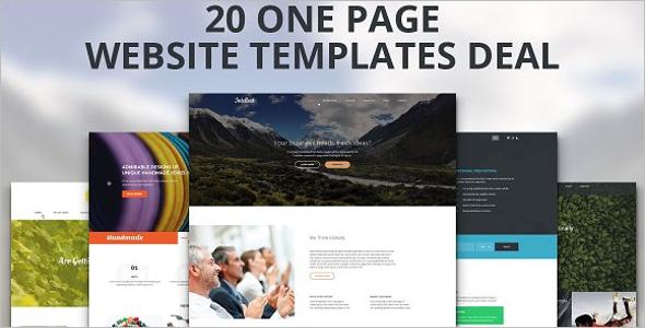 Responsive & Free HTML Website Template
