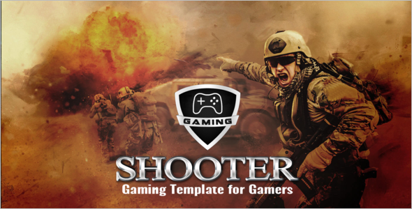 Responsive Gaming Website Template