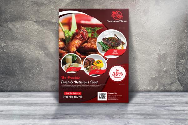 Restaurant Business Flyer Template