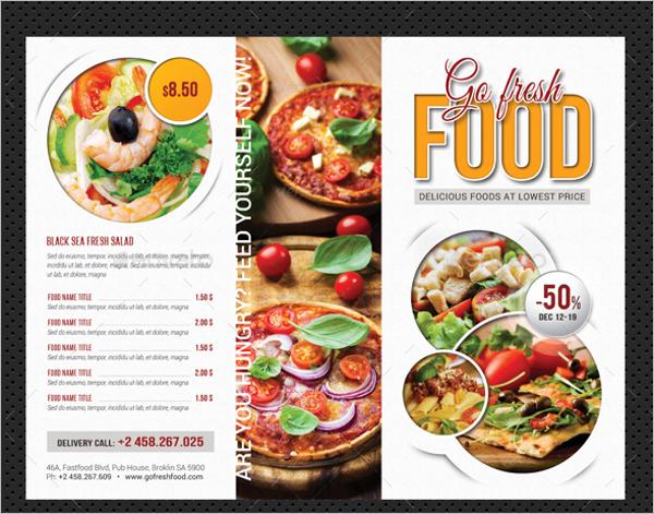 Restaurant Menu Brochure Bundle Template
