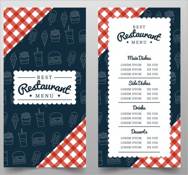 Restaurant Background Design